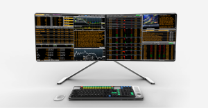 elegant new design for the Bloomberg terminal (used by 'ordinary' investors) from Colin P Kelly and team